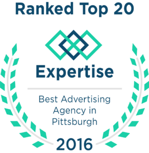 Expertise.com top 20 best advertising agency in pittsburgh