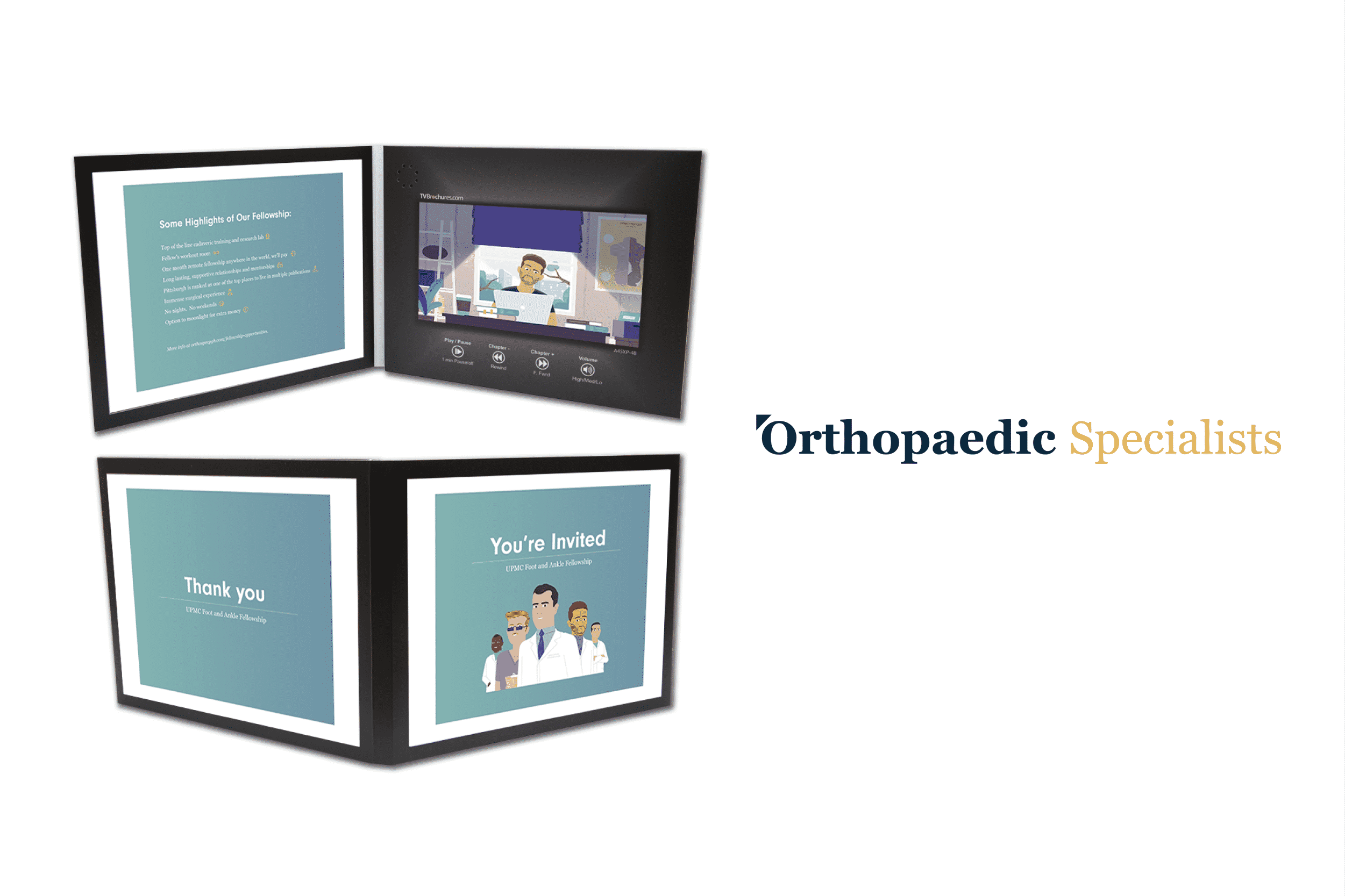orthopeadic specialist video card deisgn