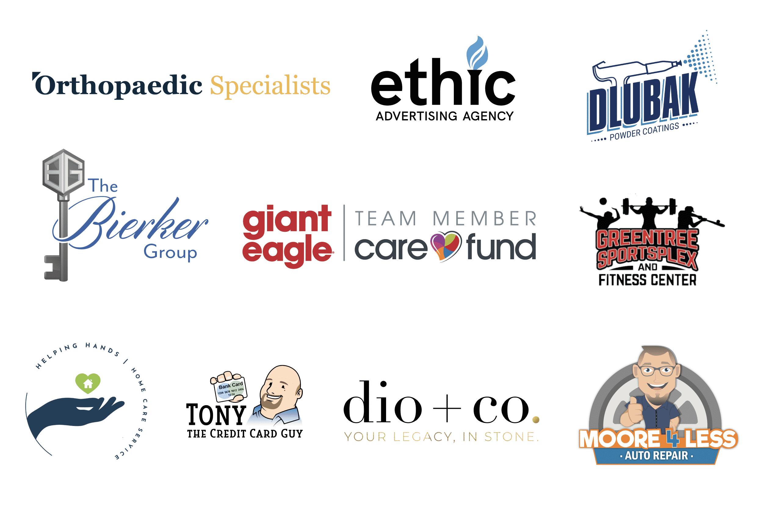 Ethic advertising agency Logo design samples