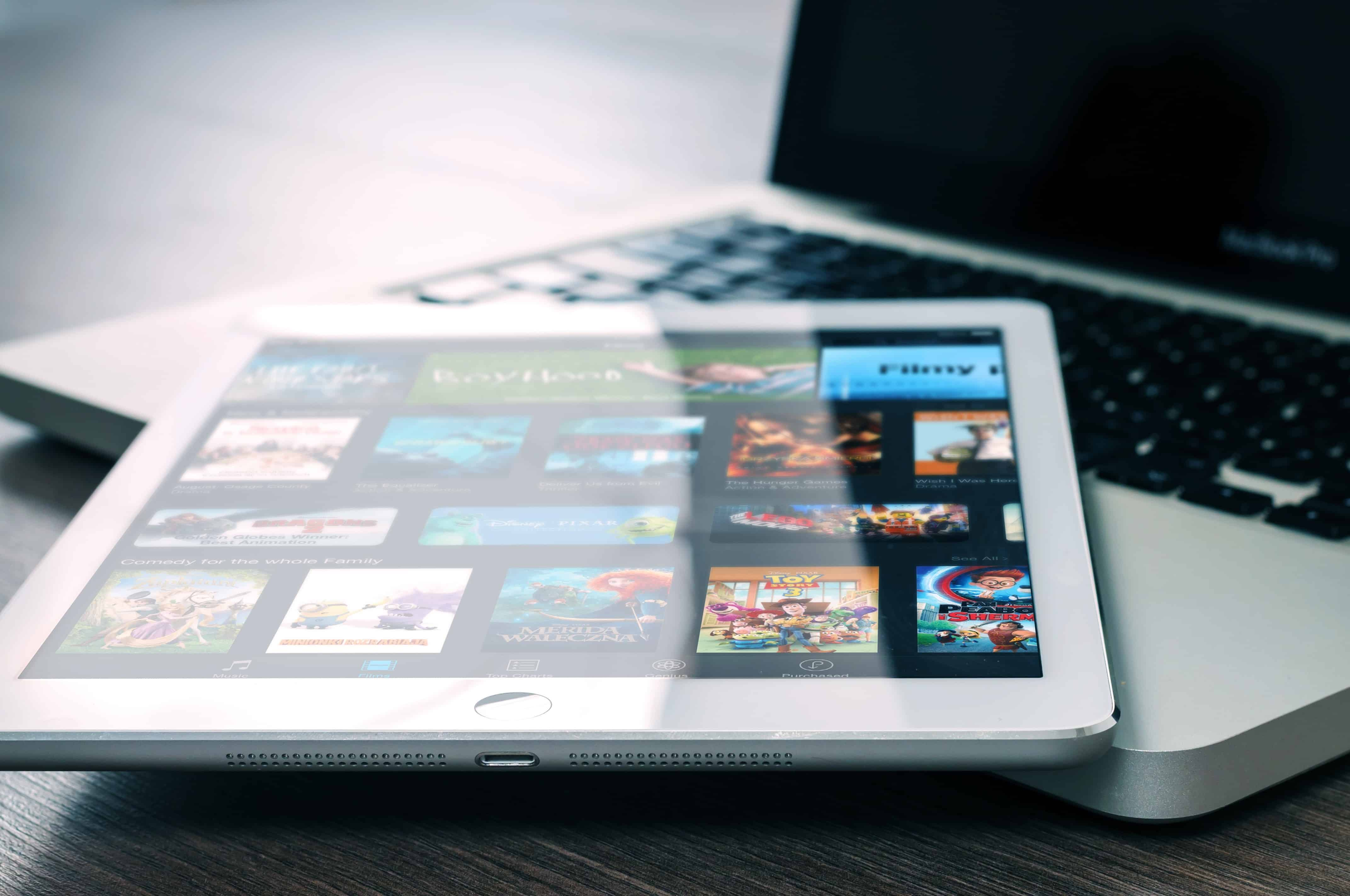 watching television shows on your tablet or mobile device