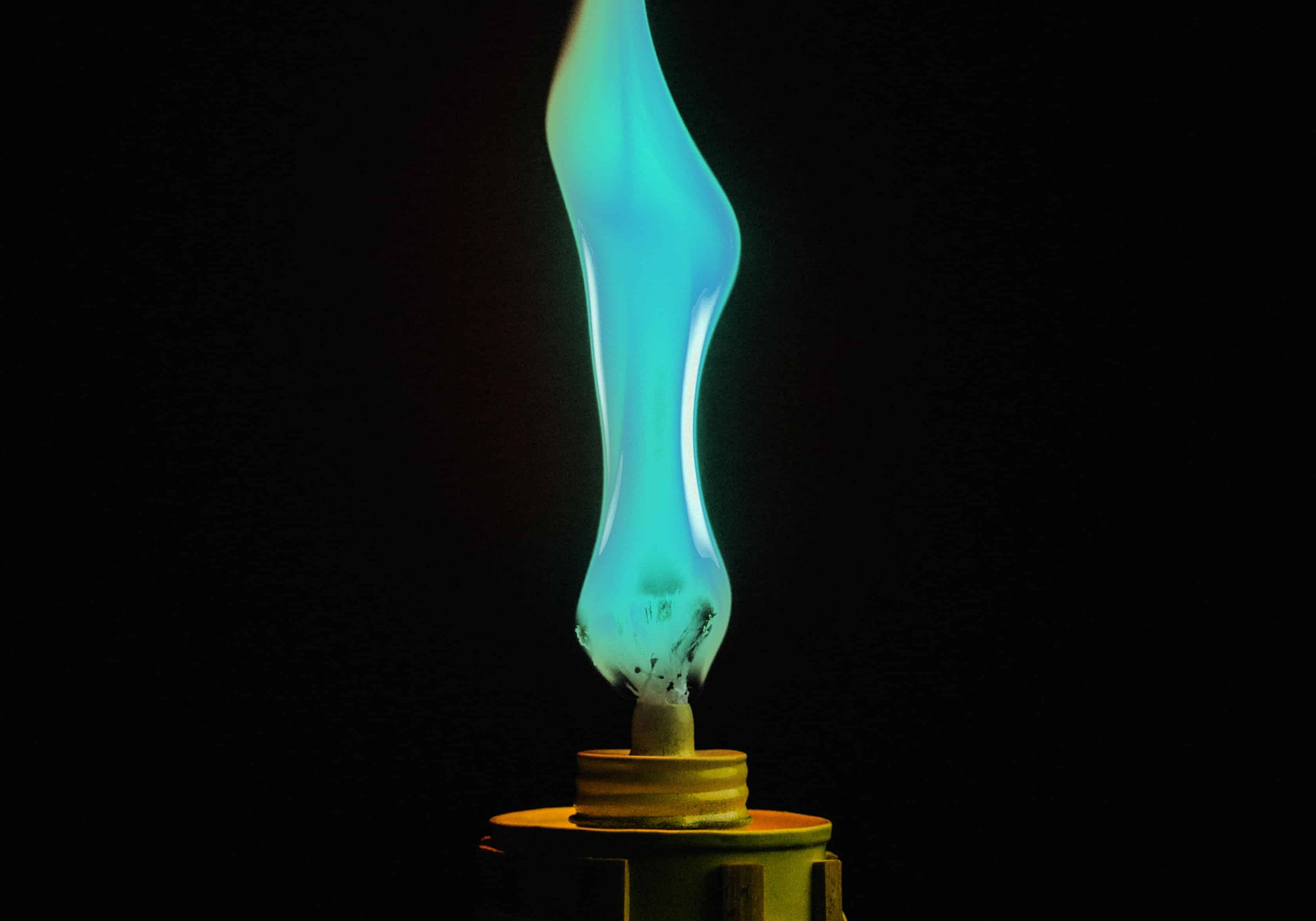 Ethic Advertising Agency blue tiki flame