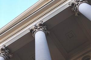 ethic advertising columns for principle pillars