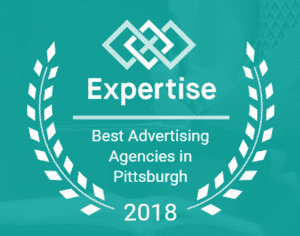 experience top 20 advertising agency 2018 badge ethic advertising