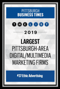 pittsburgh business times largest pittsburgh area digital multimedia marketing firms 2019